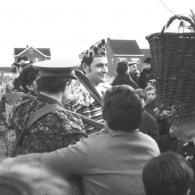 De kersverse koning van de Hanenkap in 1967 (foto: Olmense Vereniging voor Heemkunde en Geschiedenis)