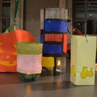 Enkele lantaarns uit de stoet van Dessel-Hei (foto: Niels Schalley)